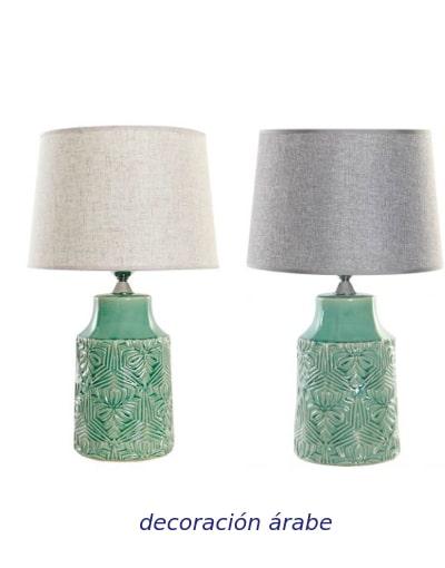 lámpara de mes verde