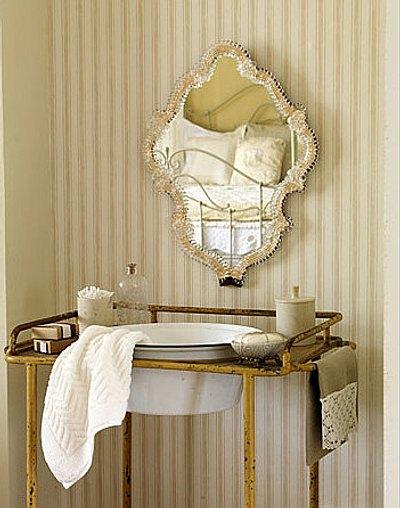 bonitos espejos para decorar el bao