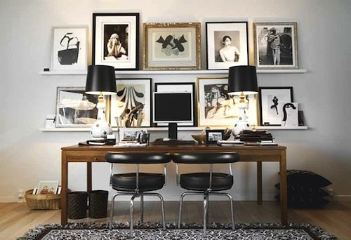 ideas para decoracin de oficinas y despachos cuadros