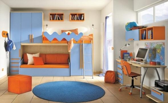 Dormitorios modernos con literas para ni os - Dormitorios infantiles modernos ...