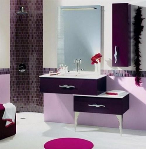 purple-lavender bath