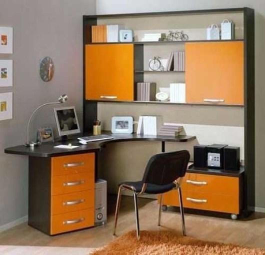 orange-office-design