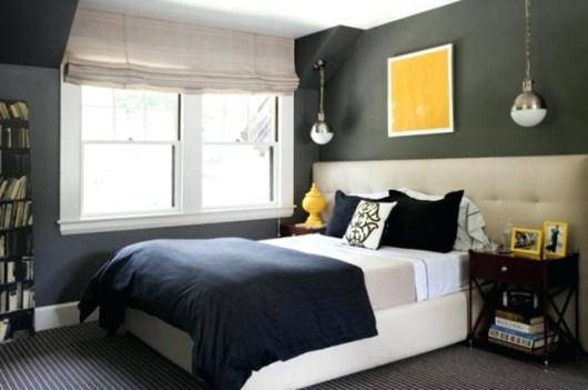 dormitorio juvenil gris