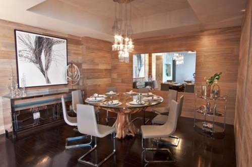 13 Comedores Decorados Con Mesa Redonda Para El Hogar - Comedores-decorados