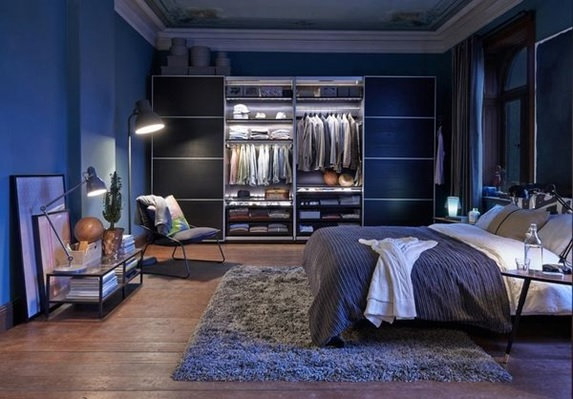 22 estupendos dise os de dormitorios para hombres - Dormitorios para chicos ...