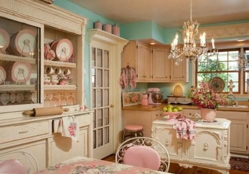19 Disenos De Cocinas En Color Rosa