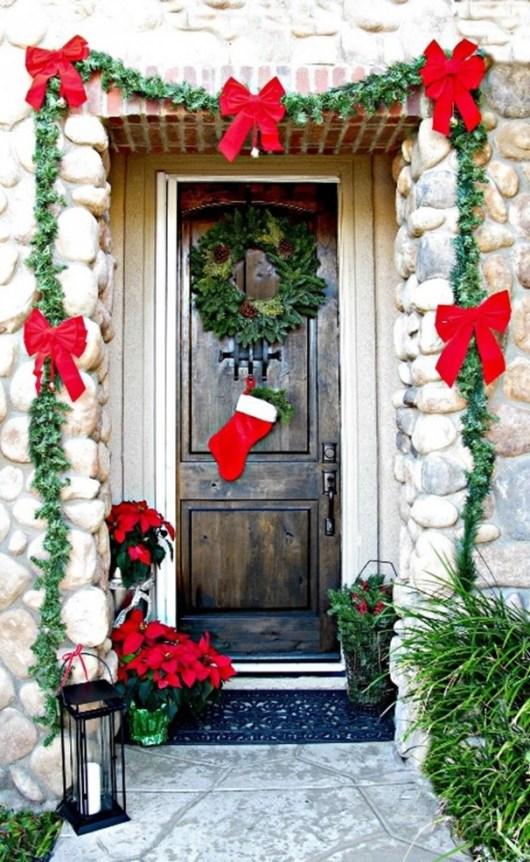 christmas decoration entrance door 7
