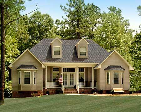 Decora tu casa con estilo americano estilos de decoraci n - Casas estilo romantico ...