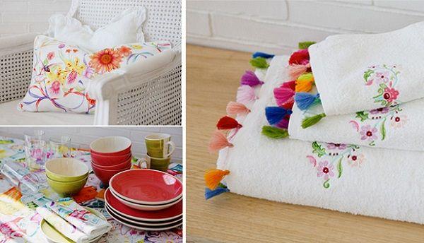 Colores vivos en la colección Zara Home