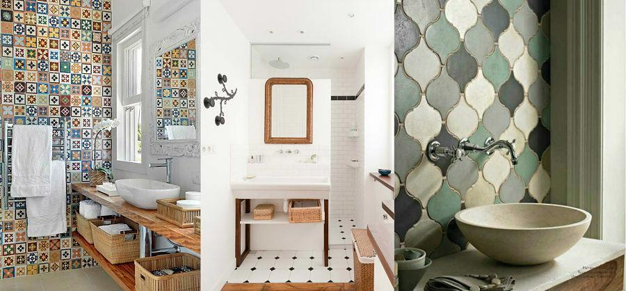 Decoraci n de paredes en ba os y aseos decoracion de ba os - Alicatados de cuartos de bano ...
