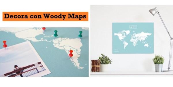 Decorar con Woody Map