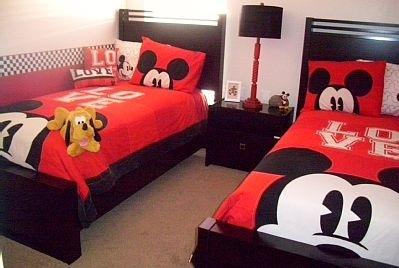 Colcha infantil de Mickey Mouse