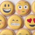 Glase Real Para Galletas. Decoracion De Emojis