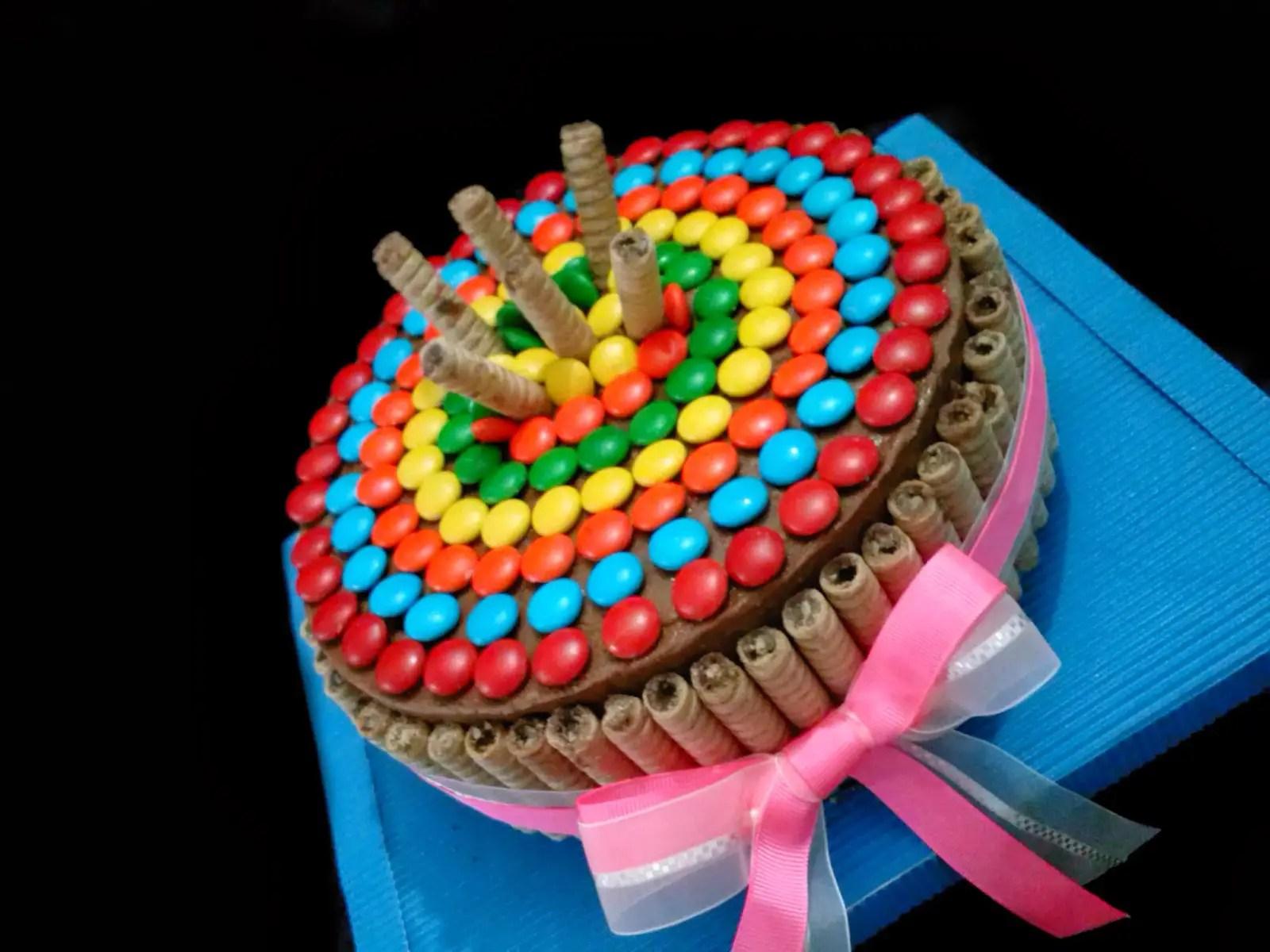 decorado de tortas con golosinas