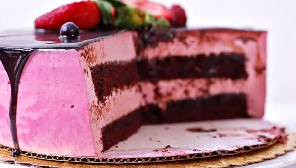 como hacer una torta helada