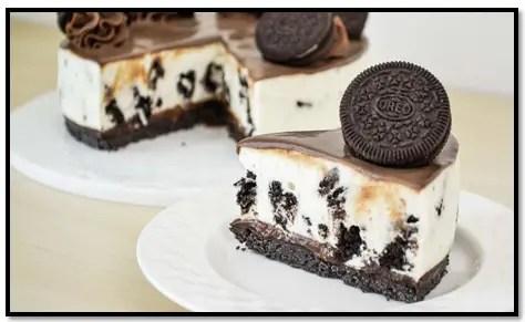 Receta de torta de galletas oreo sencilla