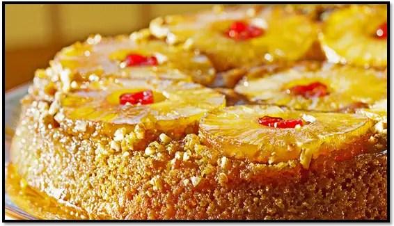 Torta De Pan Con Piña