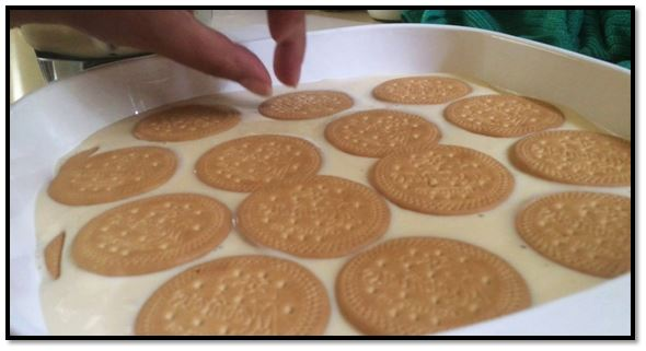 Como hacer torta fría de guanábana con galleta maría