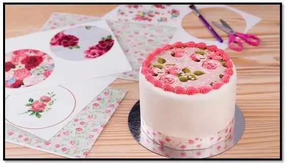 Papel De Arroz Para Torta