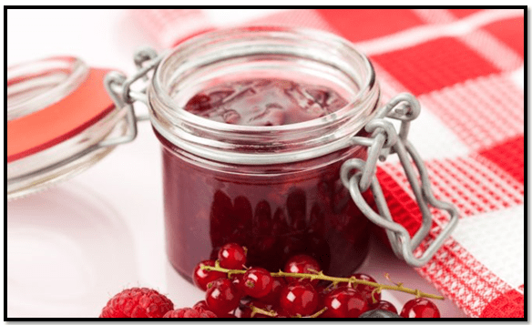como hacer mermelada de arándanos rojos