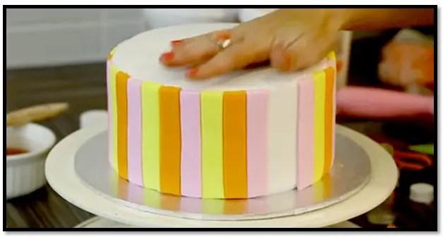 qué tipo de torta se puede cubrir con fondant