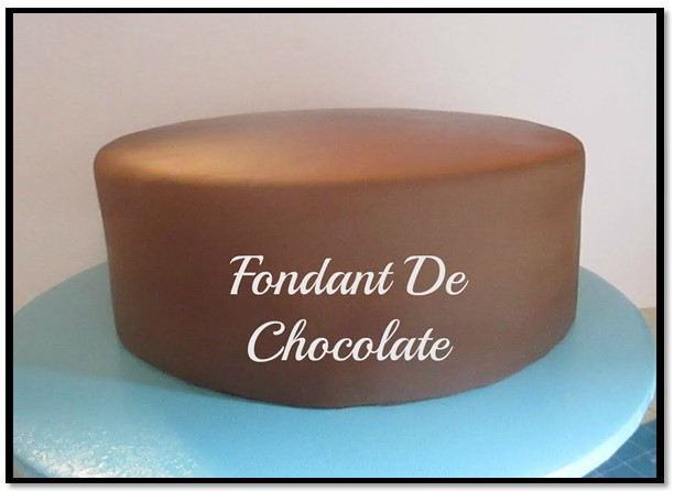 como hacer fondant de chocolate
