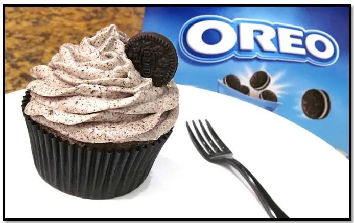 crema oreo para cupcakes