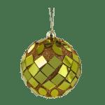 Esfera navideña con espejos