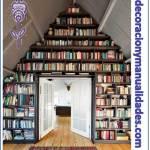 Decoracion de Ático  a Libreria