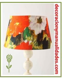 redecoracion de lamparas en obra de arte