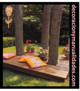 decoracion de exteriores para jardin