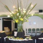 Decoración para eventos con flores