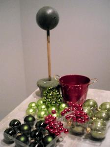 Como hacer un Árbol con esferas1