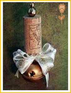 vela navideña decorada