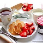 Desayuno para el día de San Valentín
