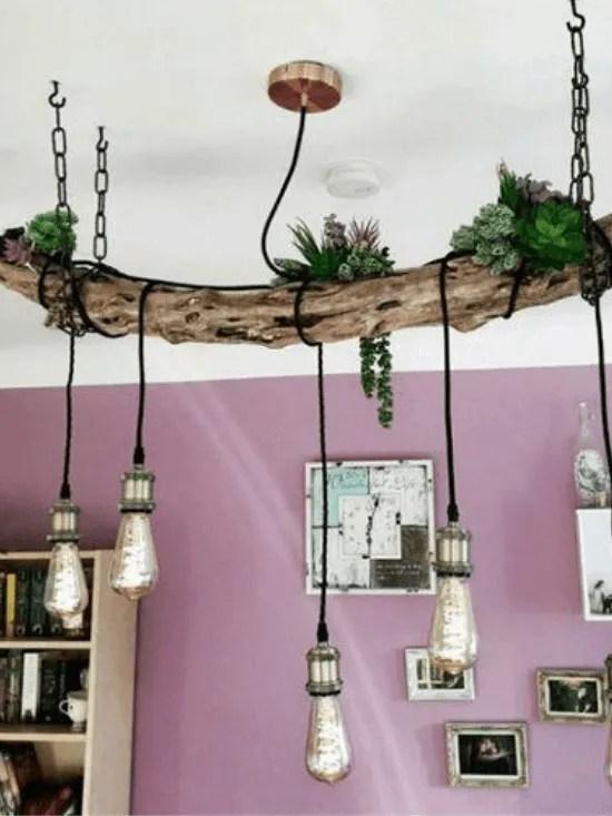 Visualizza altre idee su lampadari rustici, idee per l'illuminazione, idee legno. Lampadari Fai Da Te 10 Idee Creative E Tutorial Decoraclub It