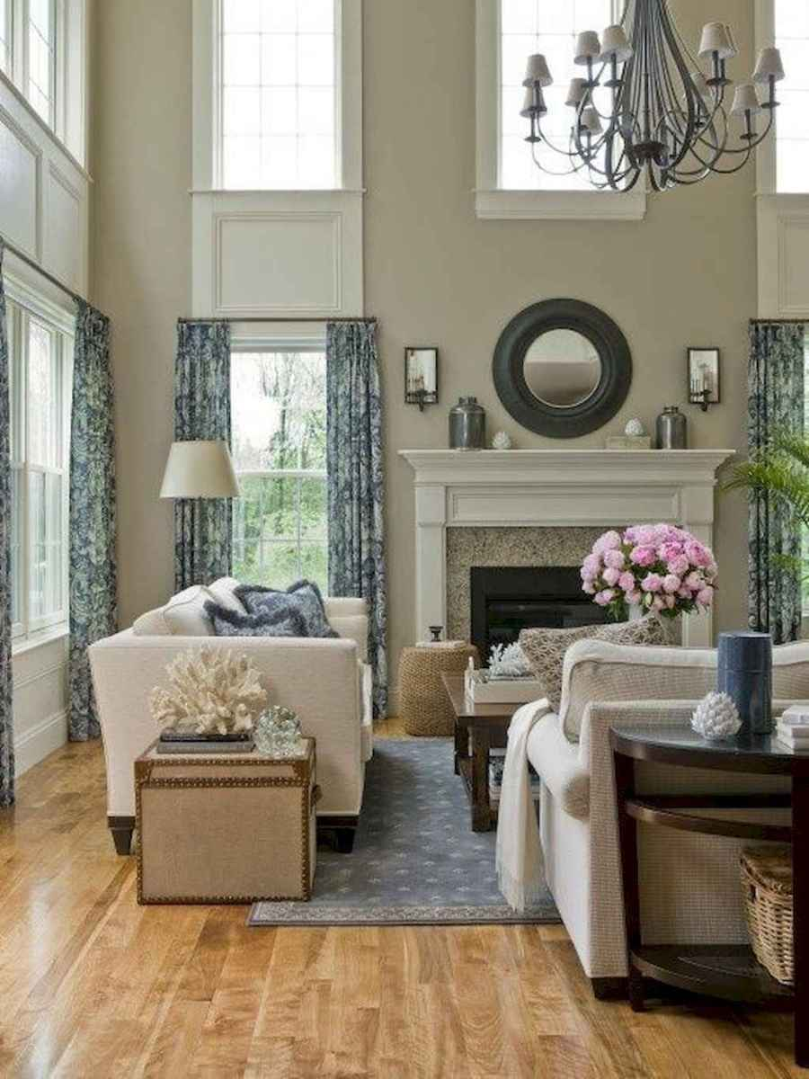 09 Elegant French Country Living Room Decor Ideas