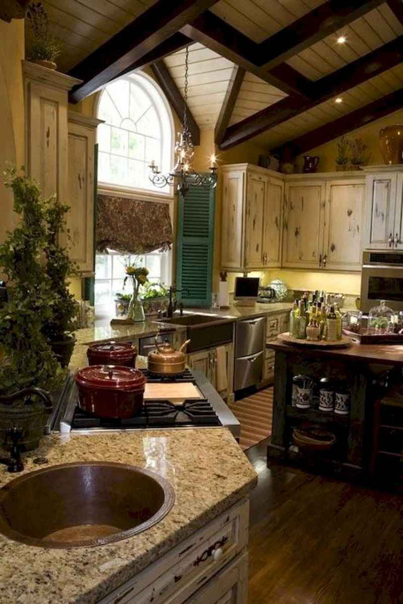 36 Simple French Country Kitchen Decor Ideas