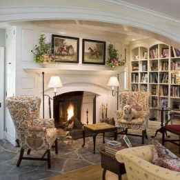 69 Elegant French Country Living Room Decor Ideas