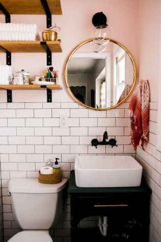 78 Beautiful Small Bathroom Decor Ideas on A Budget