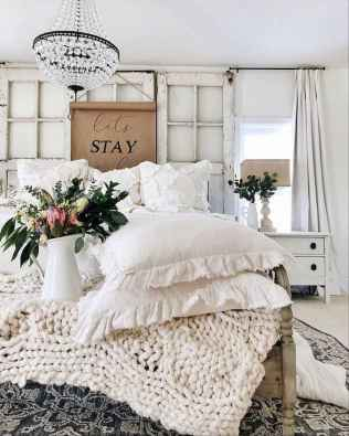 84 Affordable Farmhouse Style Bedroom Decorating Ideas