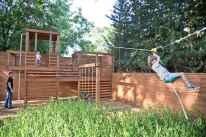 02 Small Backyard Playground Landscaping Ideas on a Budget