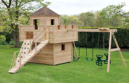 08 Small Backyard Playground Landscaping Ideas on a Budget