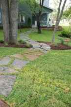 09 Amazing Front Yard Walkways Ideas on A Budget