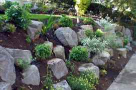 29 Gorgeous Front Yard Rock Garden Landscaping Ideas