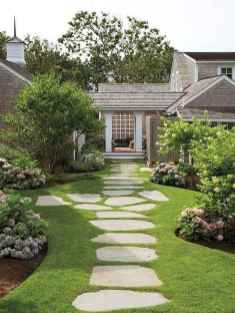 31 Amazing Front Yard Walkways Ideas on A Budget
