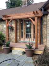 40 Beautiful Wooden and Stone Front Porch Ideas