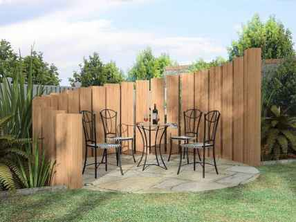 42 Affordable Backyard Privacy Fence Ideas