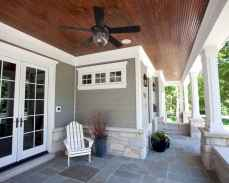 48 Beautiful Wooden and Stone Front Porch Ideas