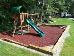 49 Small Backyard Playground Landscaping Ideas on a Budget